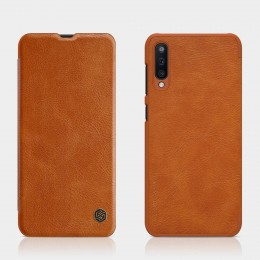 Чехол Nillkin Qin Leather Case для Samsung Galaxy A50 (2019) SM-A505 Brown (коричневый)