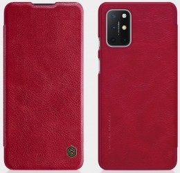 Чехол Nillkin Qin Leather Case для OnePlus 8T Red/Красный