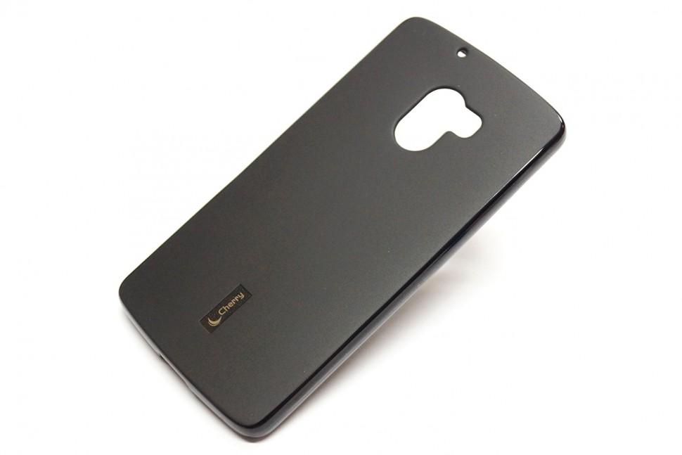 Накладка Cherry силиконовая для Lenovo K4 Note (A7010/X3 lite) черная
