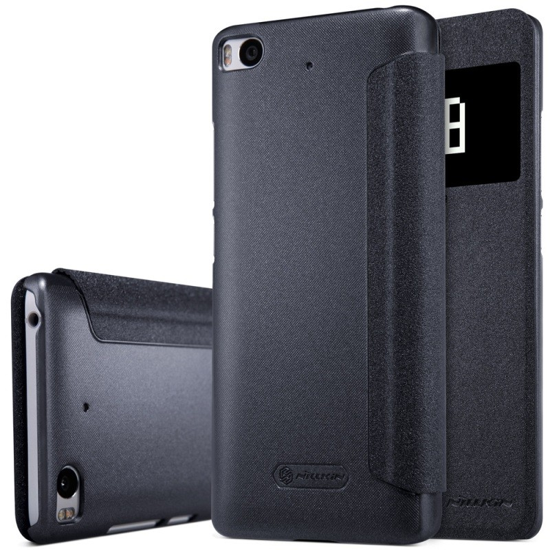 "Чехол Nillkin Sparkle Series для Xiaomi Mi5S (5.15"") Black (черный)"