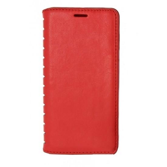 Чехол-книжка для Meizu U10 Book Type Red (красная)