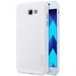 Накладка Nillkin Frosted Shield пластиковая для Samsung Galaxy A3 (2017) A320 White (белая)