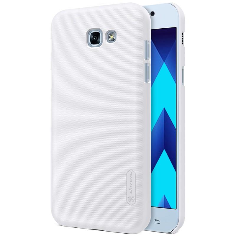 Накладка Nillkin Frosted Shield пластиковая для Samsung Galaxy A3 (2017) A320 White (белая)