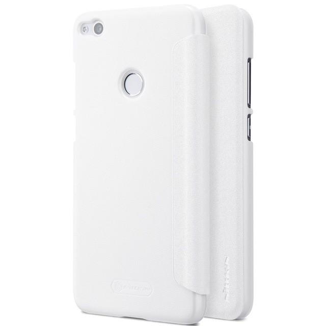 Чехол Nillkin Sparkle Series для Huawei Honor 8 Lite (P8 Lite 2017) White (белый)