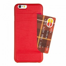 Накладка Ozaki O!coat Pocket 0.3mm для iPhone 6 Red