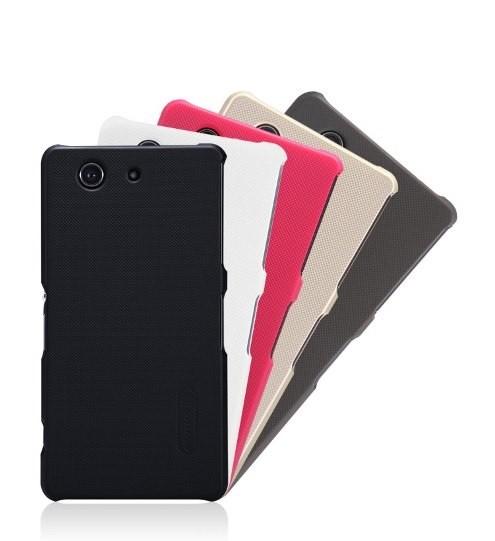 Накладка Nillkin Frosted Shield пластиковая для Sony Xperia Z3 Compact White (белая)
