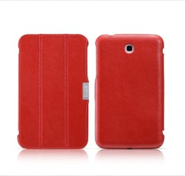 Чехол iCarer Leather Case для Samsung Galaxy Tab 3 7.0 T211/210 Red