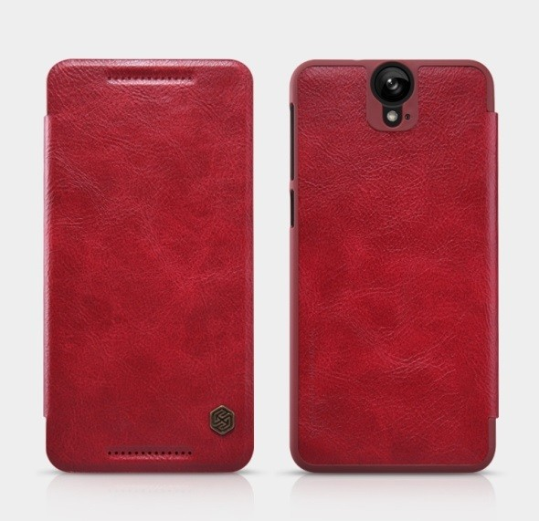 Чехол Nillkin Qin Leather для HTC One E9 Plus Red