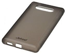 Накладка Jekod силиконовая для Nokia Lumia 820 черная