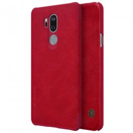 Чехол Nillkin Qin Leather Case для LG G7 ThinQ Red (красный)