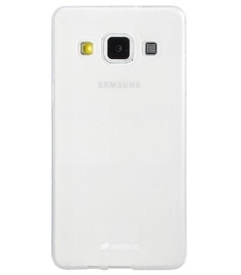 Накладка Melkco Poly Jacket силиконовая для Samsung Galaxy A5 A500 Transparent Mat (прозрачная)