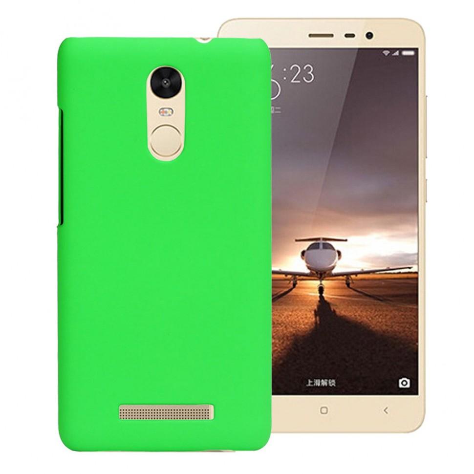 Накладка пластиковая для Xiaomi Redmi Note 3 зеленая