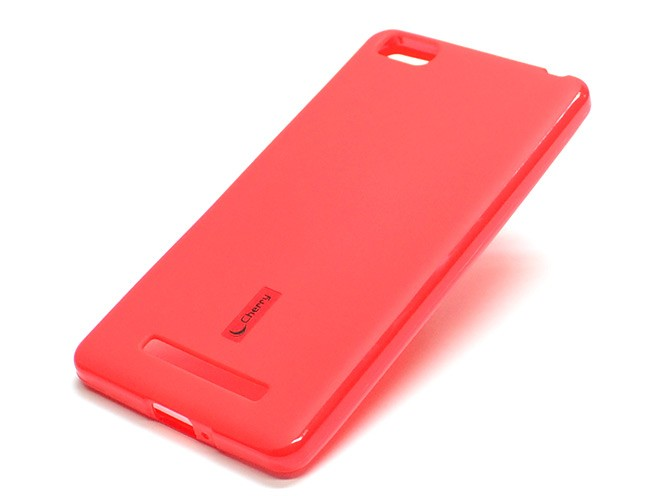 Накладка Cherry силиконовая для Xiaomi Mi4i/Mi4C красная