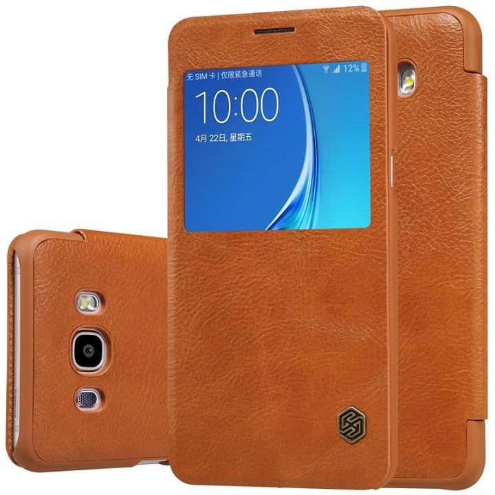 Чехол Nillkin Qin Leather Case для Samsung Galaxy J5 (2016) J510 Brown (коричневый)