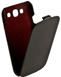 Чехол HOCO Leather Case для Samsung i9300 Galaxy S3 Black (черный)