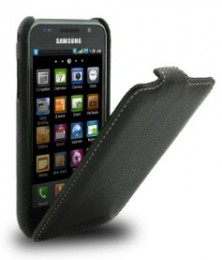 Чехол Melkco для Samsung i9000 Galaxy S Black