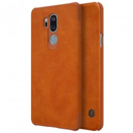 Чехол Nillkin Qin Leather Case для LG G7 ThinQ Brown (коричневый)