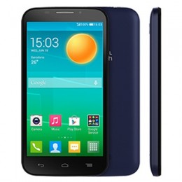 Мобильный телефон Alcatel Pop S7 7045Y Black/FashionBlue