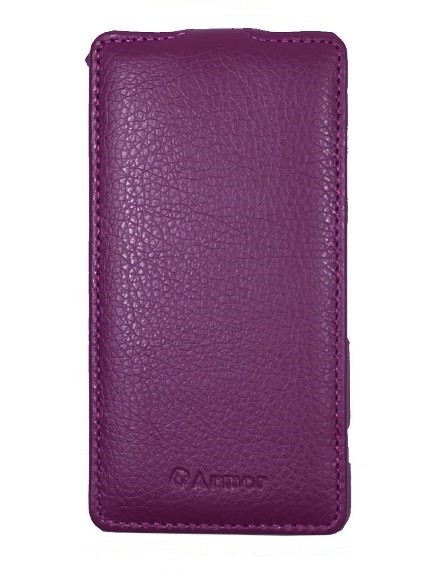 Чехол для Sony Xperia Z1 Compact фиолетовый