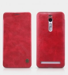 Чехол Nillkin Qin Leather Case для Asus Zenfone 2 ZE551ML/ZE550ML Red