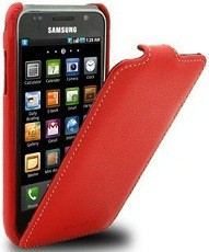 Чехол Melkco для Samsung i9000 Galaxy S Red