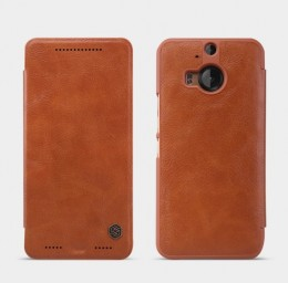 Чехол Nillkin Qin Leather для HTC One M9 Plus Brown