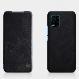 Чехол Nillkin Qin Leather Case для Xiaomi Mi10 Lite Black (черный)