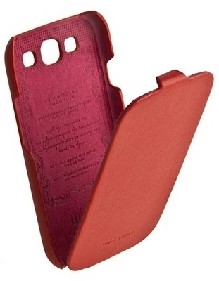 Чехол HOCO Leather Case для Samsung i9300 Galaxy S3 Red