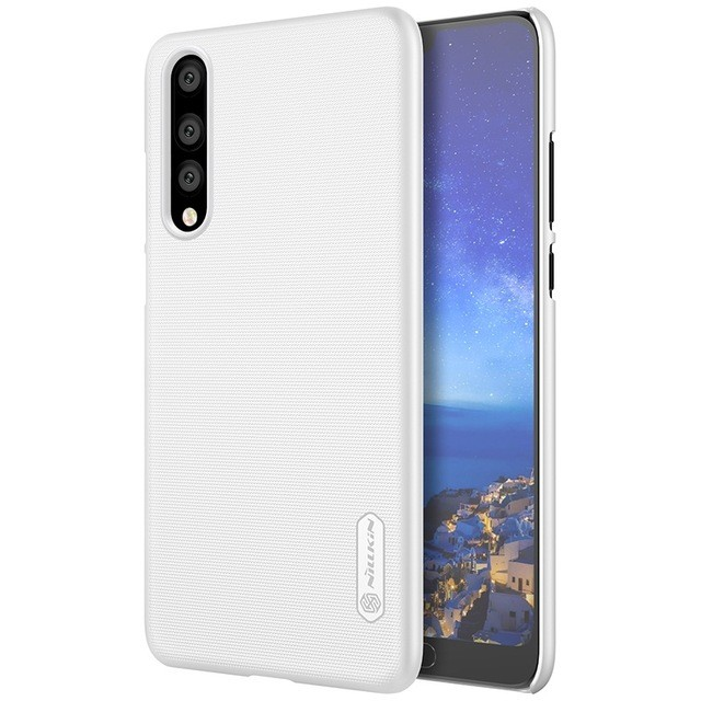 Накладка Nillkin Frosted Shield пластиковая для Huawei P20 Pro White (белая)