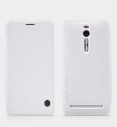 Чехол Nillkin Qin Leather Case для Asus Zenfone 2 ZE551ML/ZE550ML White