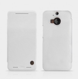 Чехол Nillkin Qin Leather для HTC One M9 Plus White