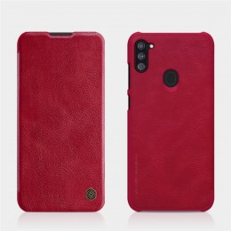 Чехол Nillkin Qin Leather Case для Samsung Galaxy A11 (2020) SM-A115 Red (красный)