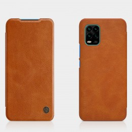 Чехол Nillkin Qin Leather Case для Xiaomi Mi10 Lite Brown (коричневый)