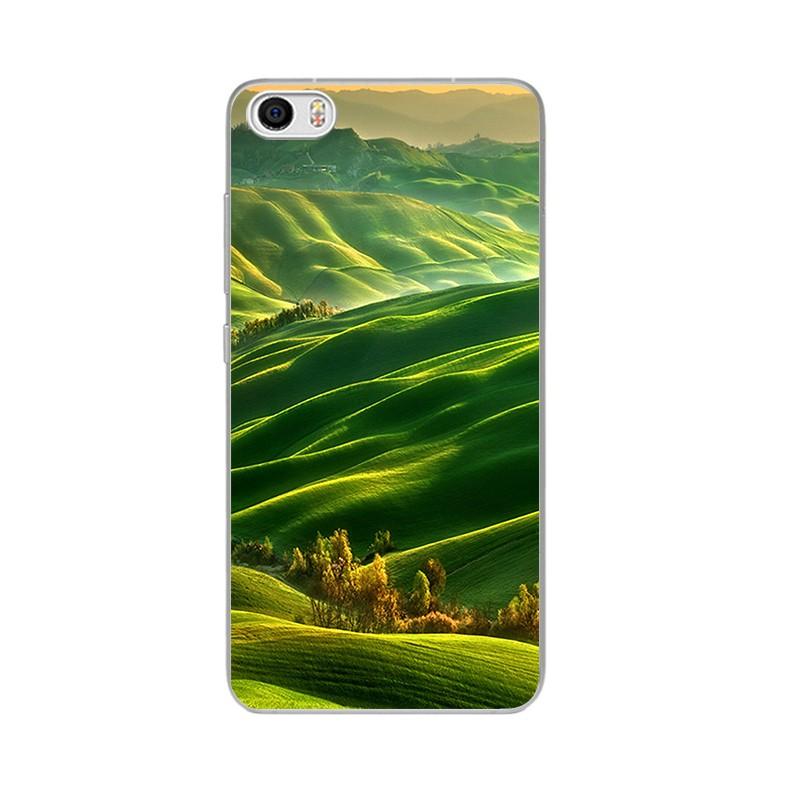 """Накладка силиконовая для Xiaomi Mi Max Пейзаж """"Заливные Луга"""""""