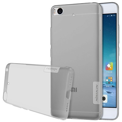 """Накладка Nillkin Nature TPU Case силиконовая для Xiaomi Mi5S (5.15"""") прозрачно-черная"""
