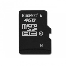 Micro SD 4Gb Class 10 Kingston с адаптером SD