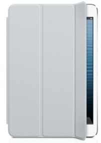 Чехол Apple Smart Cover для iPad mini полиуретановый светло-серый MD967