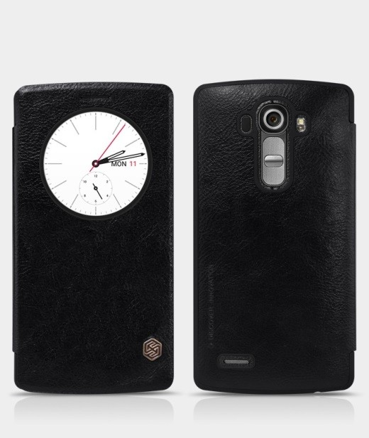 Чехол Nillkin Qin Leather для LG G4 Black
