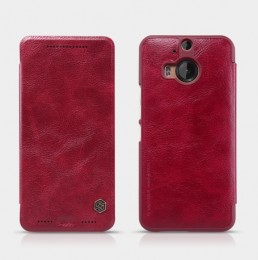 Чехол Nillkin Qin Leather для HTC One M9 Plus Red