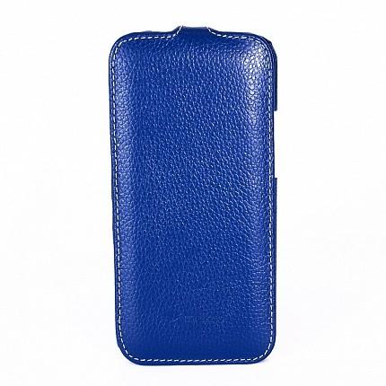 Чехол Melkco для HTC One mini 2 M8 Dark Blue LC (темно-синий)
