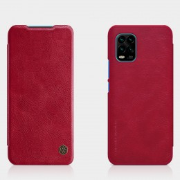 Чехол Nillkin Qin Leather Case для Xiaomi Mi10 Lite Red (красный)