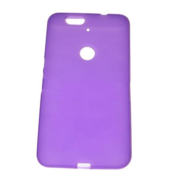 Накладка силиконовая для Huawei Nexus 6P фиолетовая