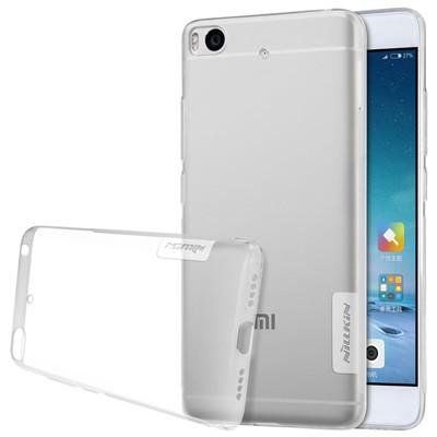 """Накладка Nillkin Nature TPU Case силиконовая для Xiaomi Mi5S (5.15"""") прозрачная"""