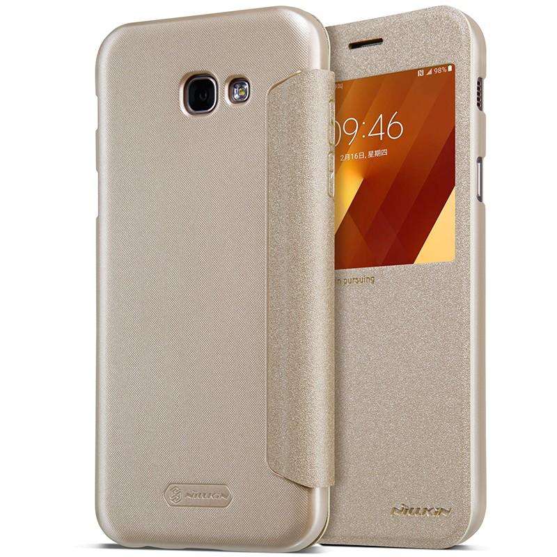 Чехол Nillkin Sparkle Series для Samsung Galaxy A7 (2017) A720 Gold (золотой)