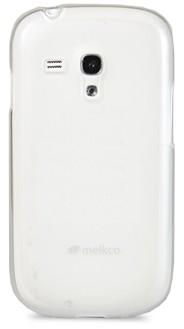 Накладка Melkco силиконовая для Samsung Galaxy S III mini i8190 белая