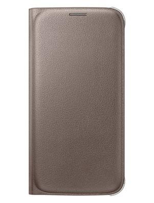 Чехол Flip Wallet для Samsung Galaxy S6 SM-G920 EF-WG920PFEGRU золотой
