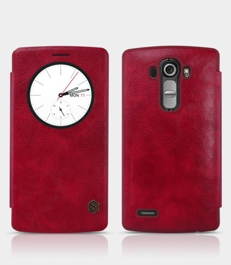 Чехол Nillkin Qin Leather для LG G4 Red