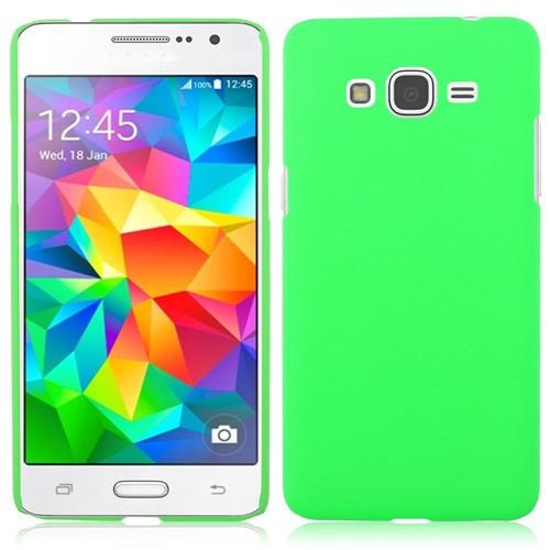 Накладка пластиковая для Samsung Galaxy Grand Prime G530 зеленая