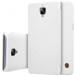 Чехол Nillkin Qin Leather Case для OnePlus 3 White (белый)