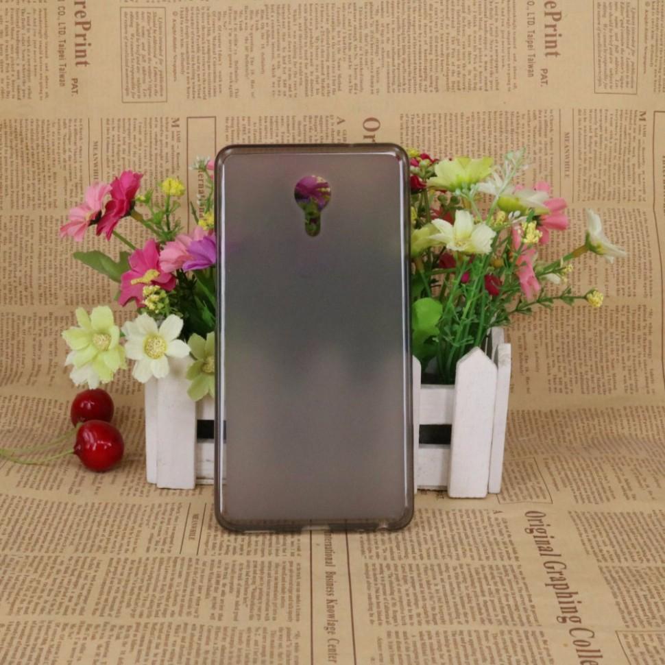Накладка KissWill силиконовая для Meizu M3 Max прозрачно-черная